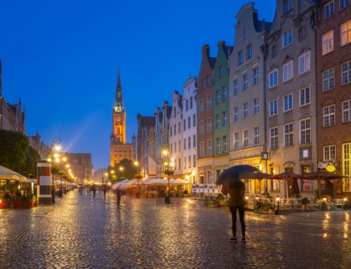 Co robić w Gdańsku, kiedy pada deszcz?